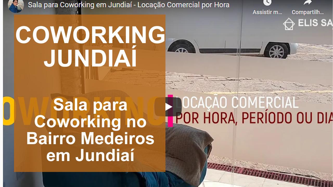 Salas Comerciais e Coworking Jundiaí - Espaço Comercial Villa Medeiros