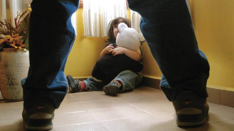 A criança abusada sexualmente