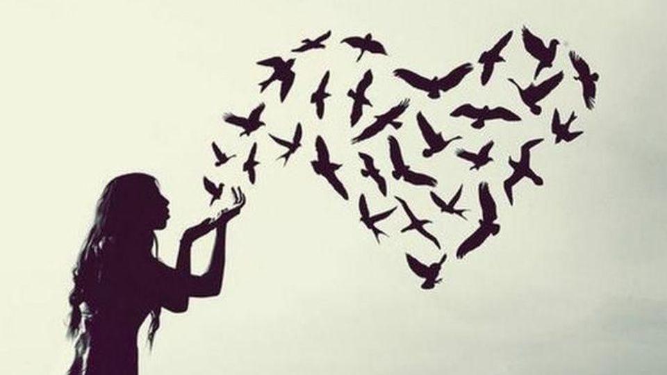 A escolha de ter paz no coração e não borboletas no estômago