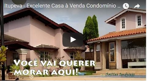 Casa à Venda ou Permuta no Condomínio Parque dos Cafezais 6 em Itupeva