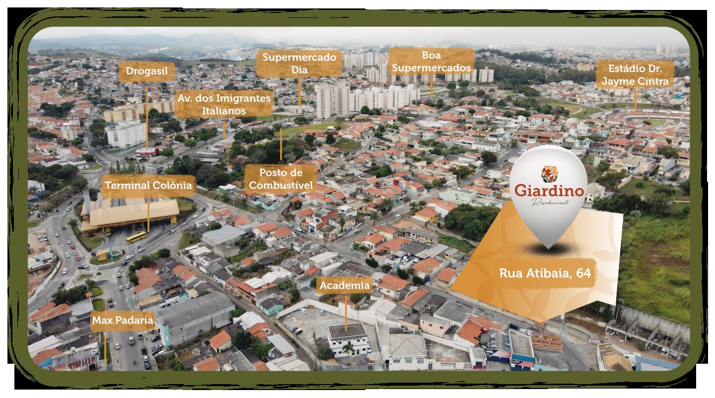 Apartamentos Giardino Colônia Jundiaí