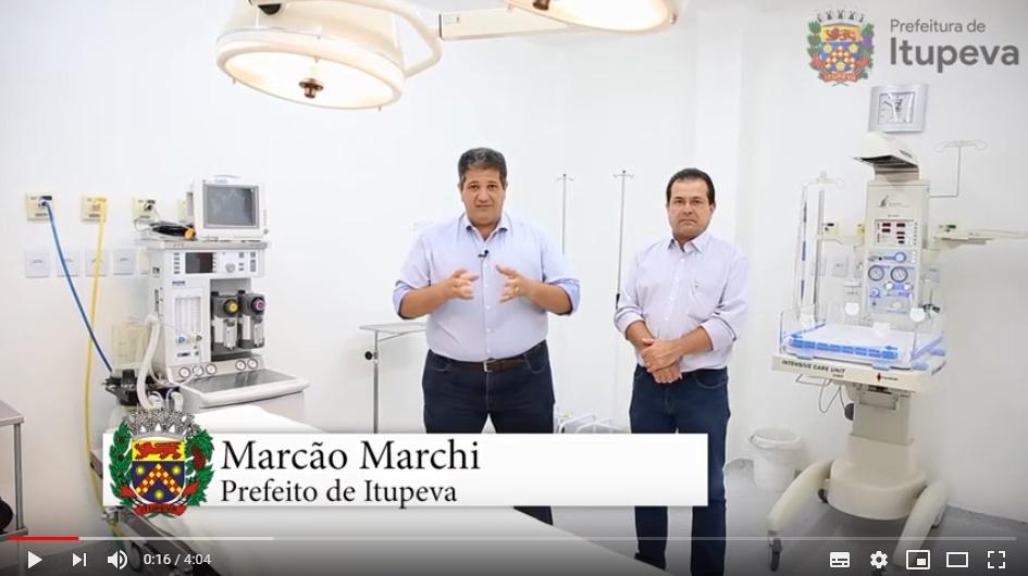 Boas Notícias para Itupeva - Entrega da Reforma do Centro Cirúrgico