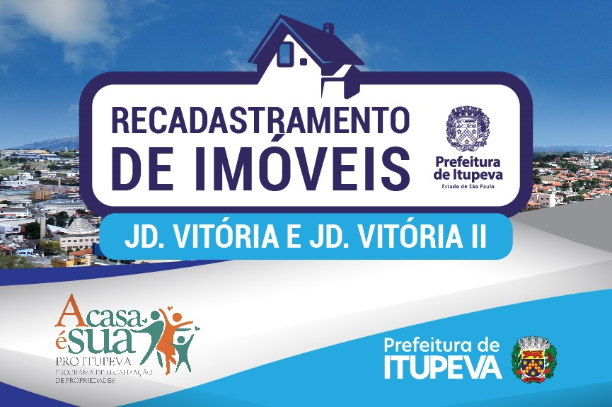 Regularização de imóveis no Jardim Vitória e Jardim Vitória II, em Itupeva