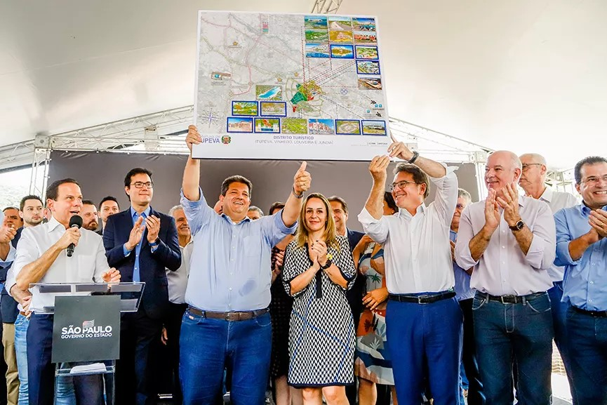 Governador João Doria anuncia R$ 24 milhões em investimentos para Itupeva