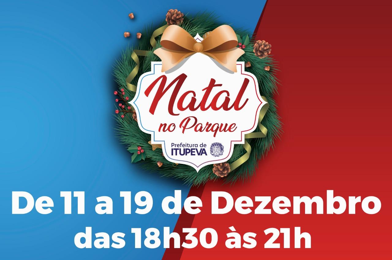 Dia 11 terá ínicio o Natal no Parque em Itupeva