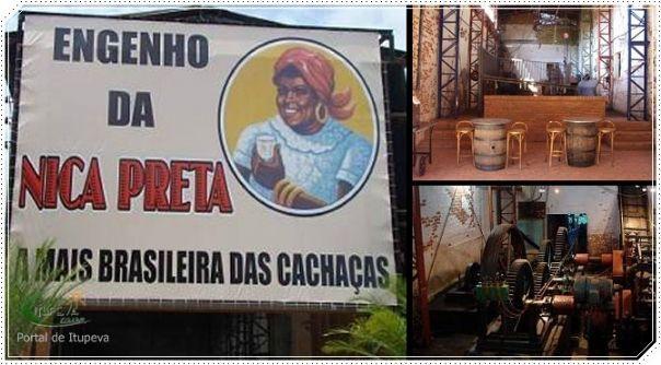 Cachaça Nica Preta Itupeva - Circuito das Frutas