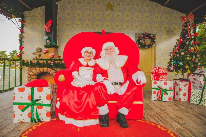 Conheça a História do Papai Noel de Itupeva