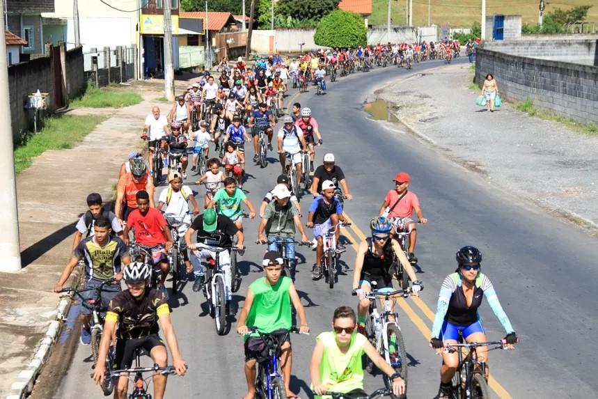 Passeio Ciclístico de aniversário será no dia 22 de março