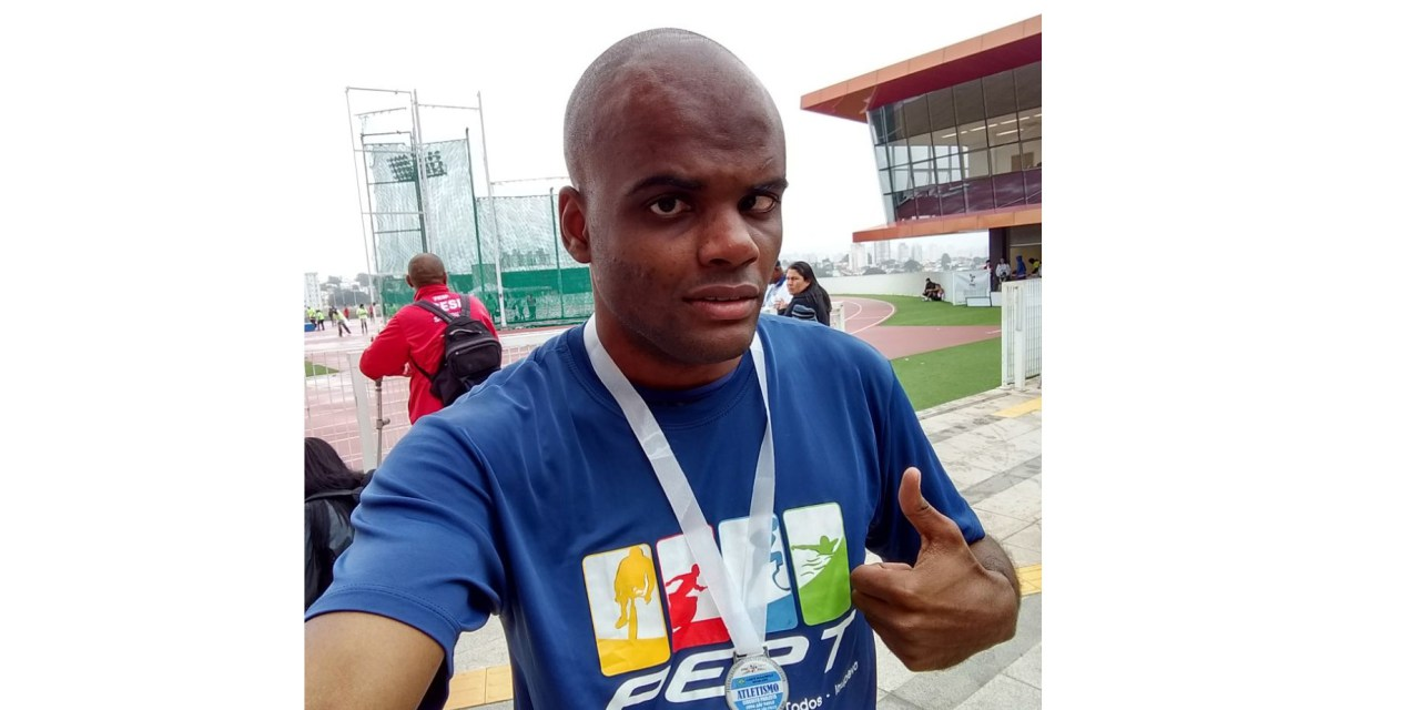 Itupevense Ricardo Novais Santos Carlos conquista três medalhas nos Jogos Paralímpicos Universitário