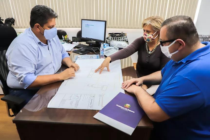 Prefeito autoriza construção da Base do SAMU e do Transporte Sanitário de Itupeva