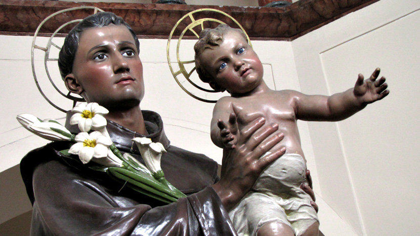 13 de junho comemora-se o dia de Santo Antônio
