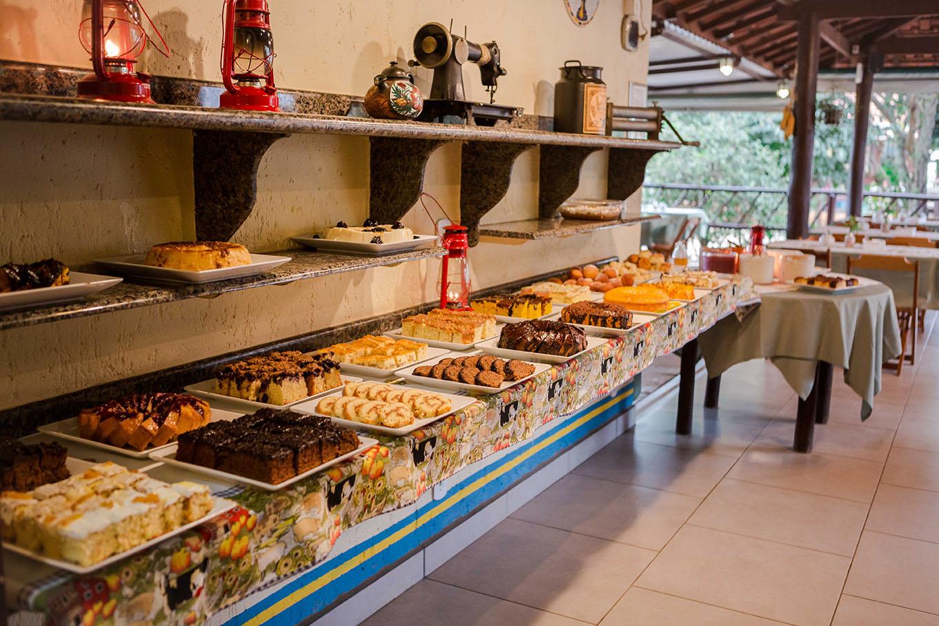 Café Colonial é no Sítio Sassafraz