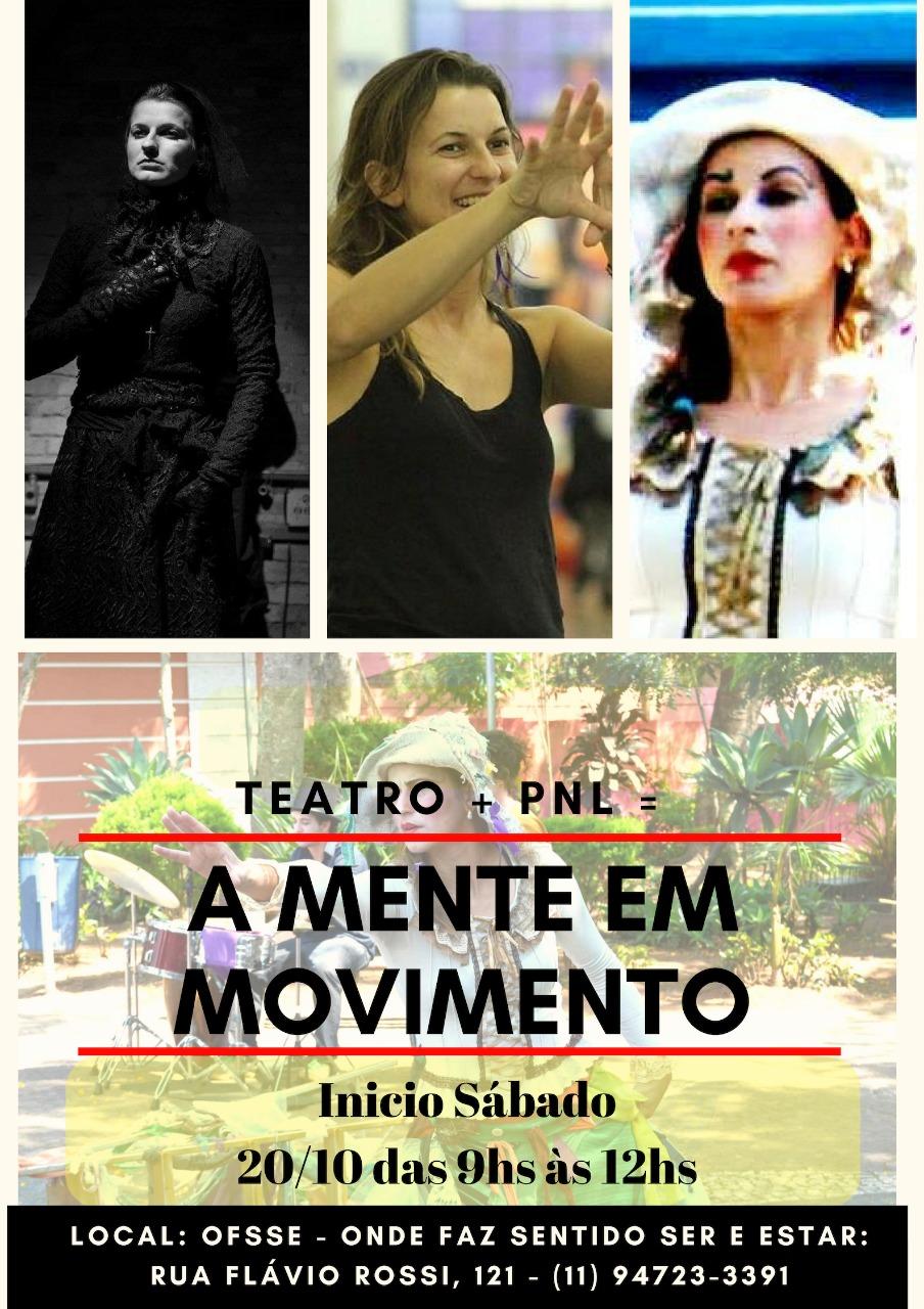 Aulas de Teatro com PNL - A Mente em Movimento