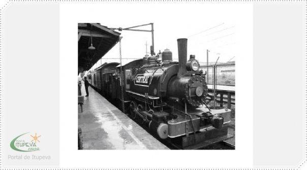 História -  O trem em Itupeva - SP