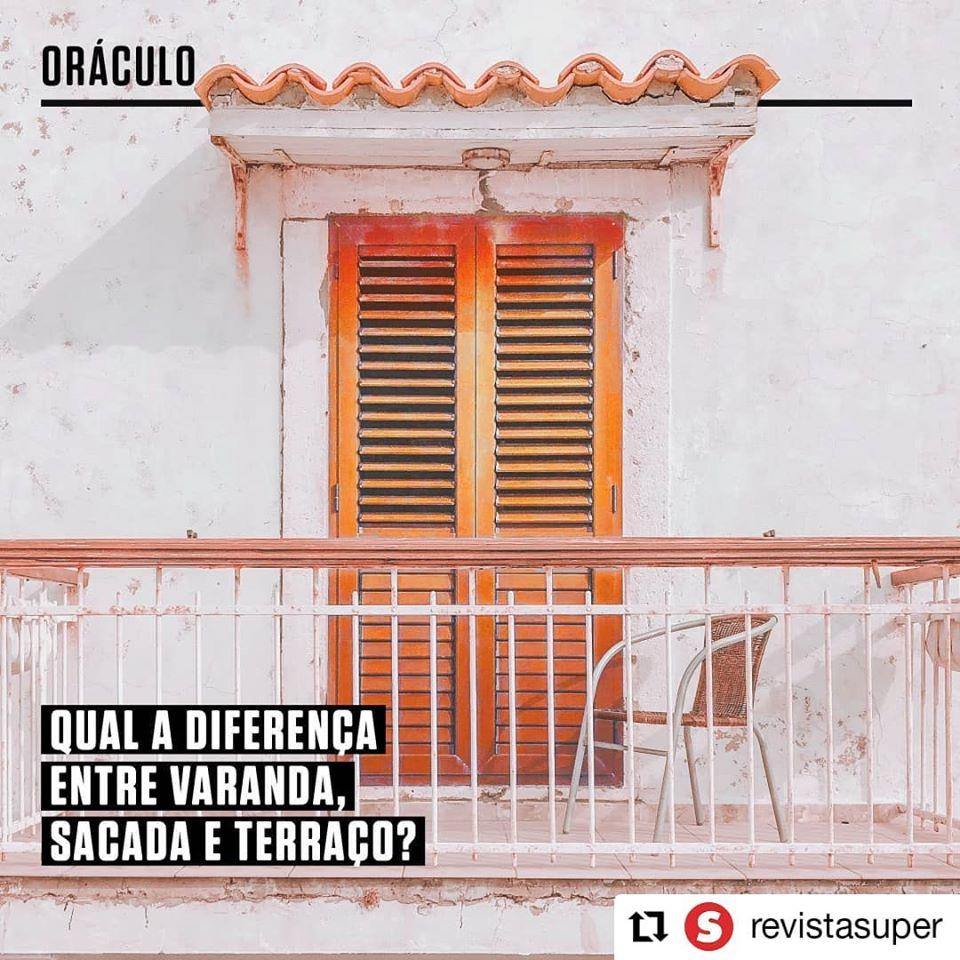 Qual a diferença entre Varanda, Terraço e Sacada?