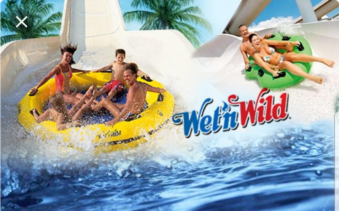Parque Wetn Wild é diversão para toda a família
