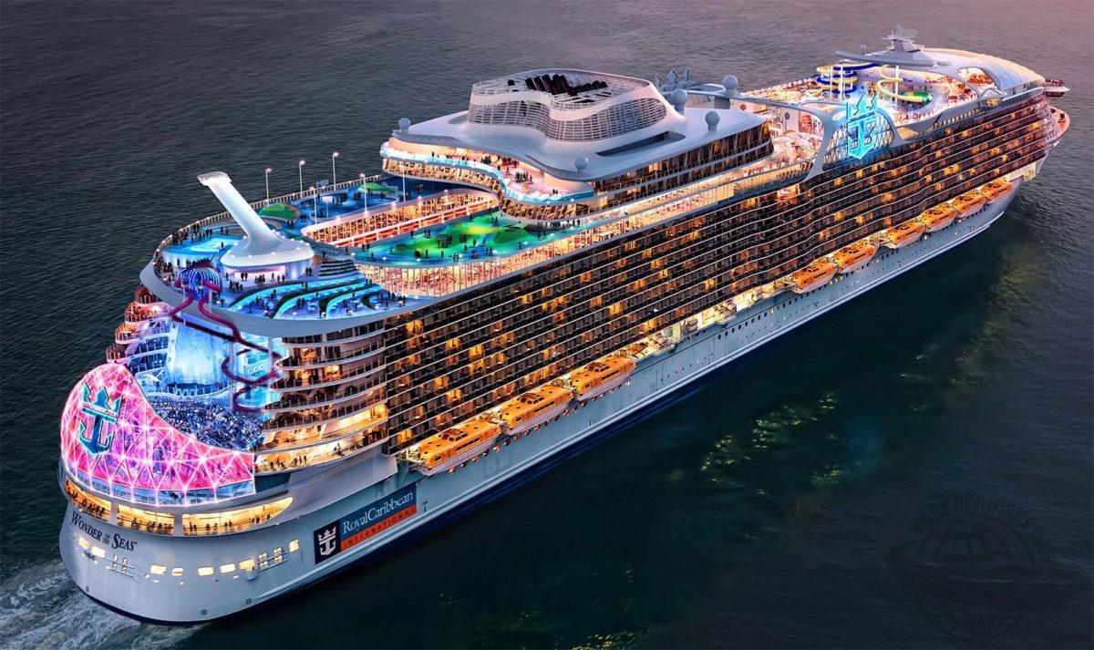 Conheça o Maior Navio do Mundo - Wonder of the Seas