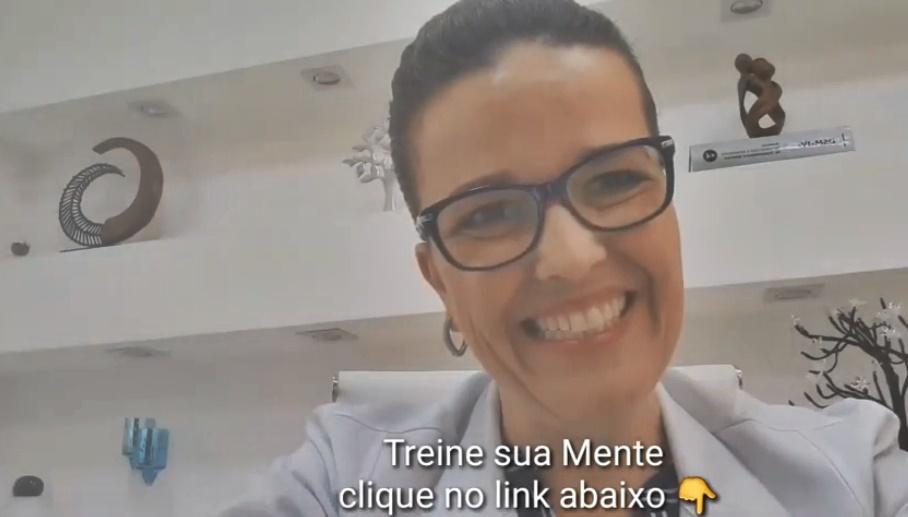 Livro - Treine Sua Mente - Psicóloga Dra. Ana Claudia Foelkel Simões